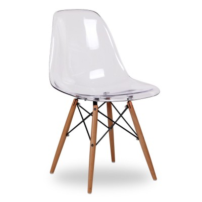 Chair Wood Style Clear
