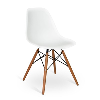 Chair Wood Style White