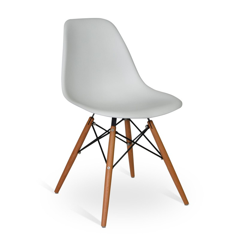 Chair Wood Style Grey