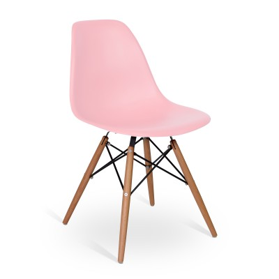 Chair Eames DSW Style Light Pink