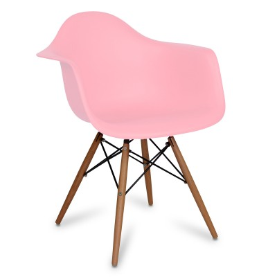 Chair Eames DAW Style Light Pink