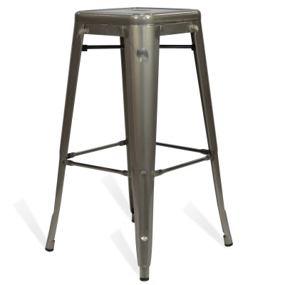Stool of metal Classic Lix Style Crystal Grey
