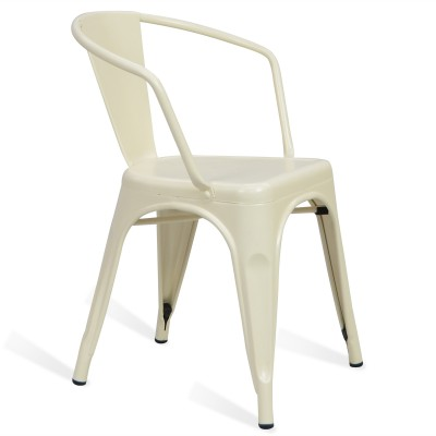 Chair Lix Arms Style Matt White