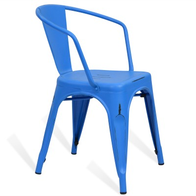 Chair Lix Arms Style Vintage Blue