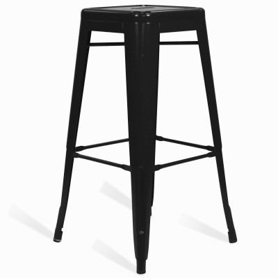 Stool of metal Classic Lix Style Black Shade