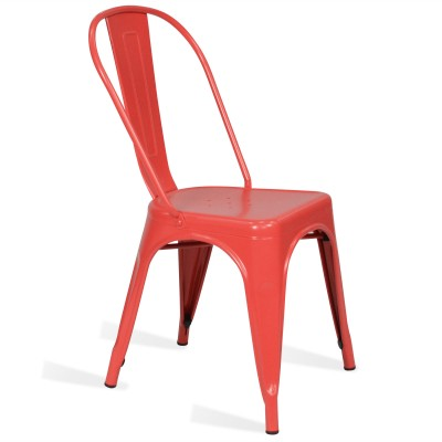 Chair Lix Style Matt Red