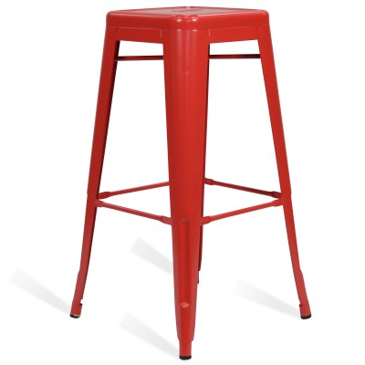 Stool of metal Classic Lix Style Red Rose