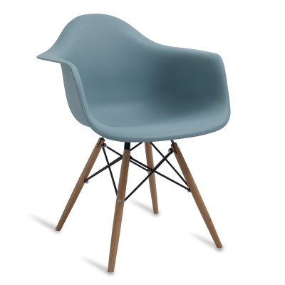 Chair Arms Wood Style Surfin