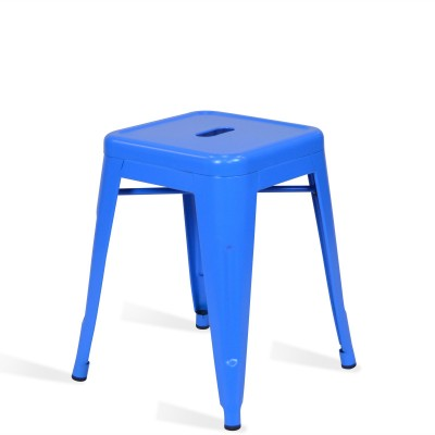 Low Stool of metal Lix Style Blue Sky