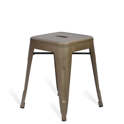 Low Stool of metal Lix Style Vintage Antique