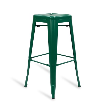 Stool of metal Classic Lix Style Green Mint